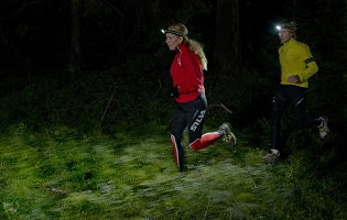 Test De Lampes Frontales De Trail Running Petzl Silva Led Lenser